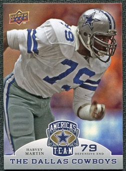 2009 Upper Deck America's Team #47 Harvey Martin