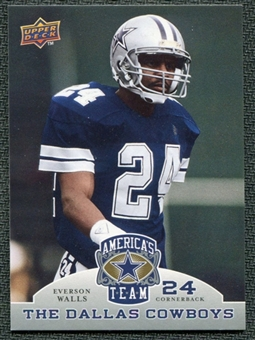2009 Upper Deck America's Team #48 Everson Walls