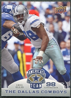 2009 Upper Deck America's Team #58 Greg Ellis