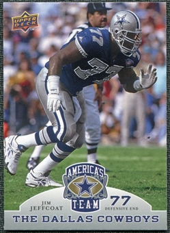 2009 Upper Deck America's Team #64 Jim Jeffcoat
