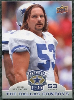 2009 Upper Deck America's Team #66 Mark Stepnoski