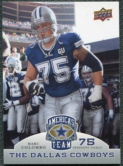 2009 Upper Deck America's Team #70 Marc Colombo