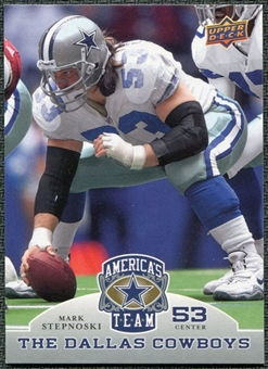 2009 Upper Deck America's Team #76 Mark Stepnoski
