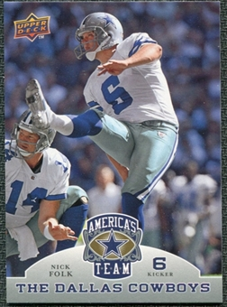 2009 Upper Deck America's Team #83 Nick Folk