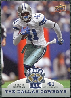 2009 Upper Deck America's Team #88 Terence Newman