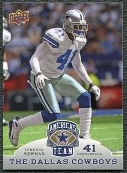 2009 Upper Deck America's Team #96 Terence Newman