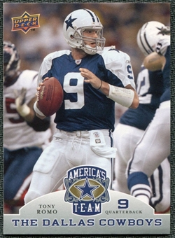 2009 Upper Deck America's Team #97 Tony Romo