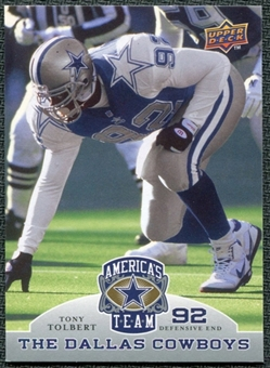 2009 Upper Deck America's Team #98 Tony Tolbert