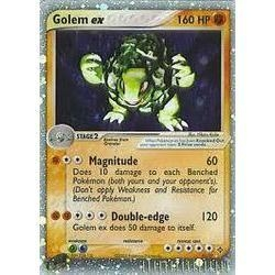 Pokemon Dragon Single Golem ex 91/97
