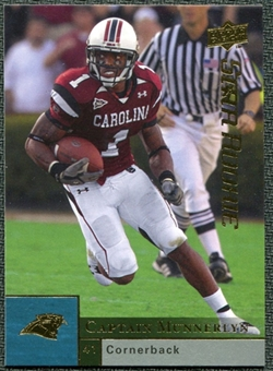 2009 Upper Deck #213 Captain Munnerlyn