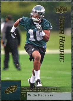 2009 Upper Deck #246 Brandon Gibson