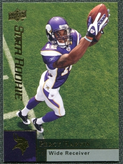 2009 Upper Deck #320 Percy Harvin RC