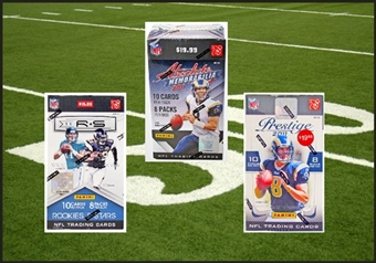 COMBO DEAL - 2011 Panini Football Blaster Boxes (Absolute, Prestige, Rookies & Stars)