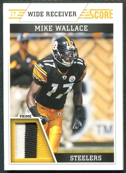 2011 Panini Score Retail Factory Set Jerseys Prime #MW Mike Wallace
