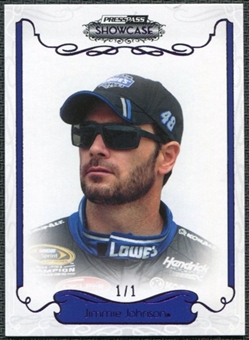 2012 Press Pass Showcase Purple #13 Jimmie Johnson 1/1