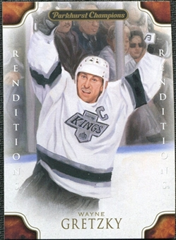 2011/12 Upper Deck Parkhurst Champions #131 Wayne Gretzky Reditions