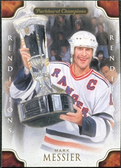 2011/12 Upper Deck Parkhurst Champions #137 Mark Messier Renditions