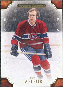 2011/12 Upper Deck Parkhurst Champions #138 Guy Lafleur Reditions