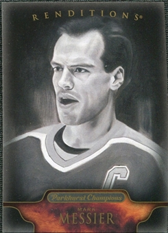 2011/12 Upper Deck Parkhurst Champions #155 Mark Messier Reditions Black & White