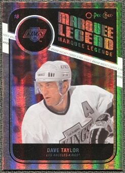 2011/12 Upper Deck O-Pee-Chee Rainbow #529 Dave Taylor Legends