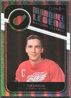 2011/12 Upper Deck O-Pee-Chee Rainbow #535 Ted Lindsay Legends