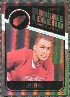 2011/12 Upper Deck O-Pee-Chee Rainbow #536 Red Kelly Legends