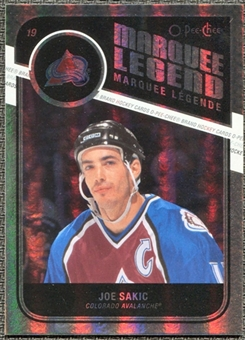 2011/12 Upper Deck O-Pee-Chee Rainbow #539 Joe Sakic Legends