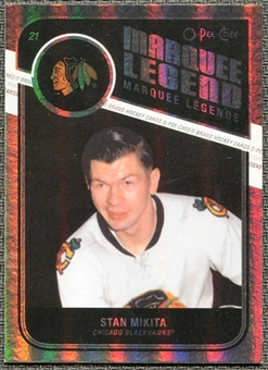 2011/12 Upper Deck O-Pee-Chee Rainbow #541 Stan Mikita Legends