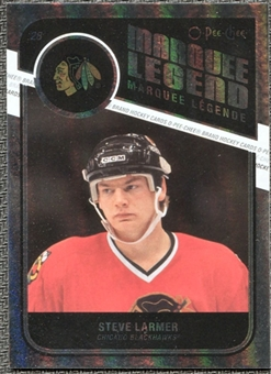 2011/12 Upper Deck O-Pee-Chee Rainbow #543 Steve Larmer Legends