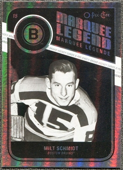 2011/12 Upper Deck O-Pee-Chee Rainbow #549 Milt Schmidt Legends