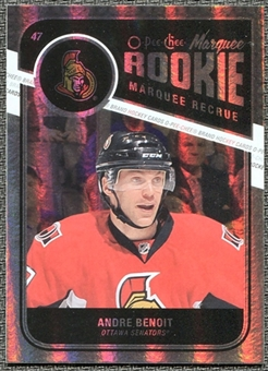 2011/12 Upper Deck O-Pee-Chee Rainbow #567 Andre Benoit RC