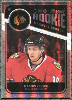 2011/12 Upper Deck O-Pee-Chee Rainbow #592 Marcus Kruger RC