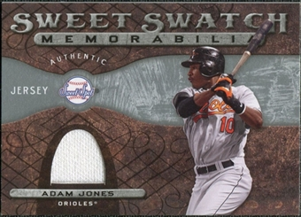 2009 Upper Deck Sweet Spot Swatches #AJ Adam Jones
