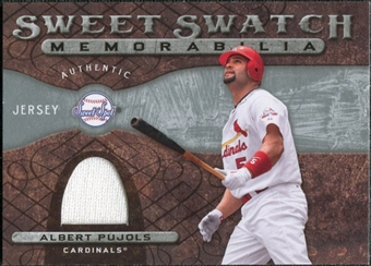 2009 Upper Deck Sweet Spot Swatches #AP Albert Pujols