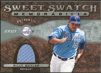 2009 Upper Deck Sweet Spot Swatches #BB Billy Butler