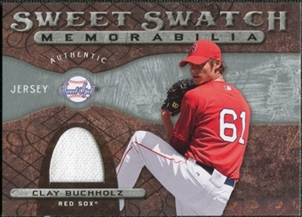 2009 Upper Deck Sweet Spot Swatches #CB Clay Buchholz