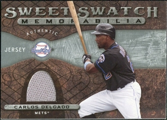 2009 Upper Deck Sweet Spot Swatches #CD Carlos Delgado