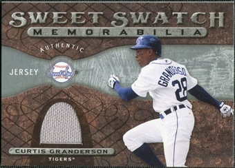 2009 Upper Deck Sweet Spot Swatches #CG Curtis Granderson