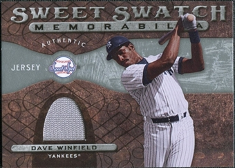 2009 Upper Deck Sweet Spot Swatches #DW Dave Winfield