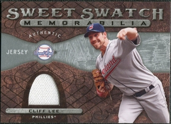 2009 Upper Deck Sweet Spot Swatches #LE Cliff Lee