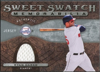 2009 Upper Deck Sweet Spot Swatches #RG Ryan Garko