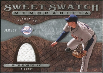 2009 Upper Deck Sweet Spot Swatches #RP Rick Porcello