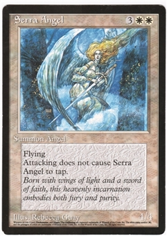 Magic the Gathering Promotional Single Serra Angel 6x9 (Guay Art)