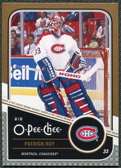 2011/12 Upper Deck O-Pee-Chee Marquee Legends #L7 Patrick Roy