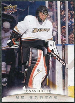 2011/12 Upper Deck Canvas #C3 Jonas Hiller