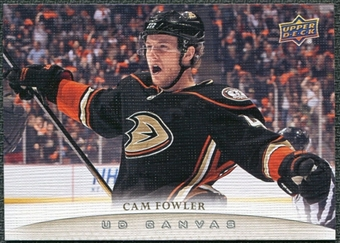 2011/12 Upper Deck Canvas #C4 Cam Fowler