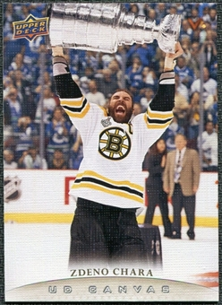 2011/12 Upper Deck Canvas #C5 Zdeno Chara