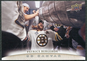 2011/12 Upper Deck Canvas #C7 Patrice Bergeron