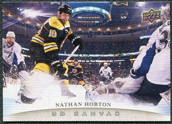 2011/12 Upper Deck Canvas #C10 Nathan Horton