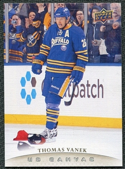 2011/12 Upper Deck Canvas #C11 Thomas Vanek